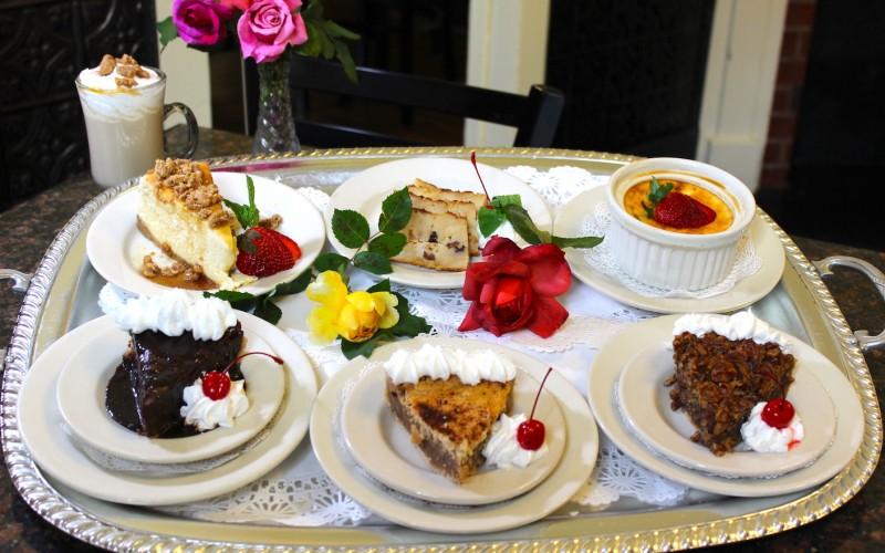 Desserts offered
